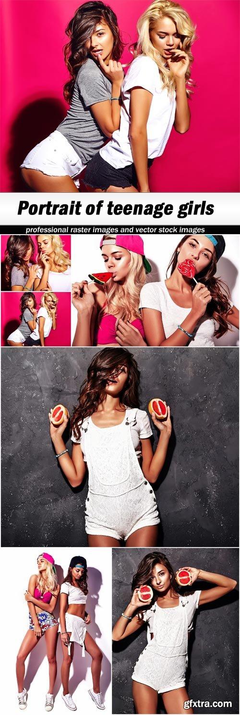 Portrait of teenage girls - 6 UHQ JPEG