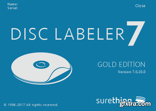 SureThing Disk Labeler Deluxe Gold 7.0.20.0 + Portable