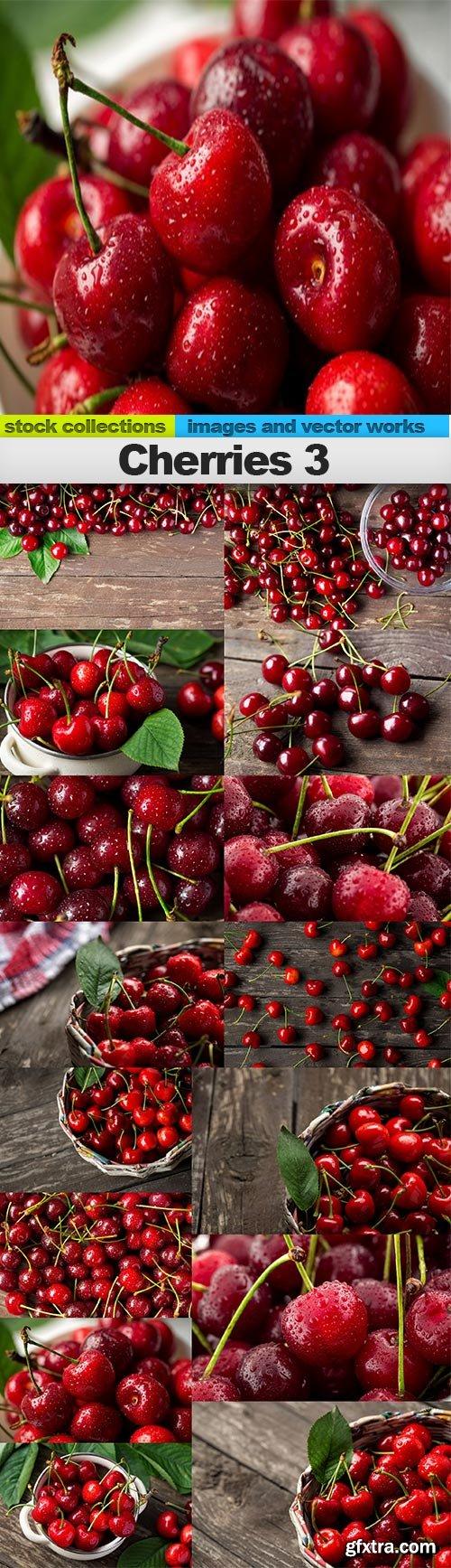 Cherries 3, 15 x UHQ JPEG