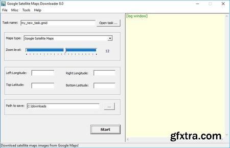 AllMapSoft Google Satellite Maps Downloader 8.04