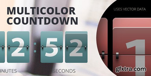 CodeCanyon - Resizable Multicolor Countdown (Update: 12 August 16) - 14633953