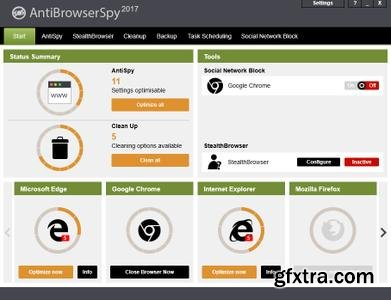 Abelssoft AntiBrowserSpy 2017 v185 Multilingual