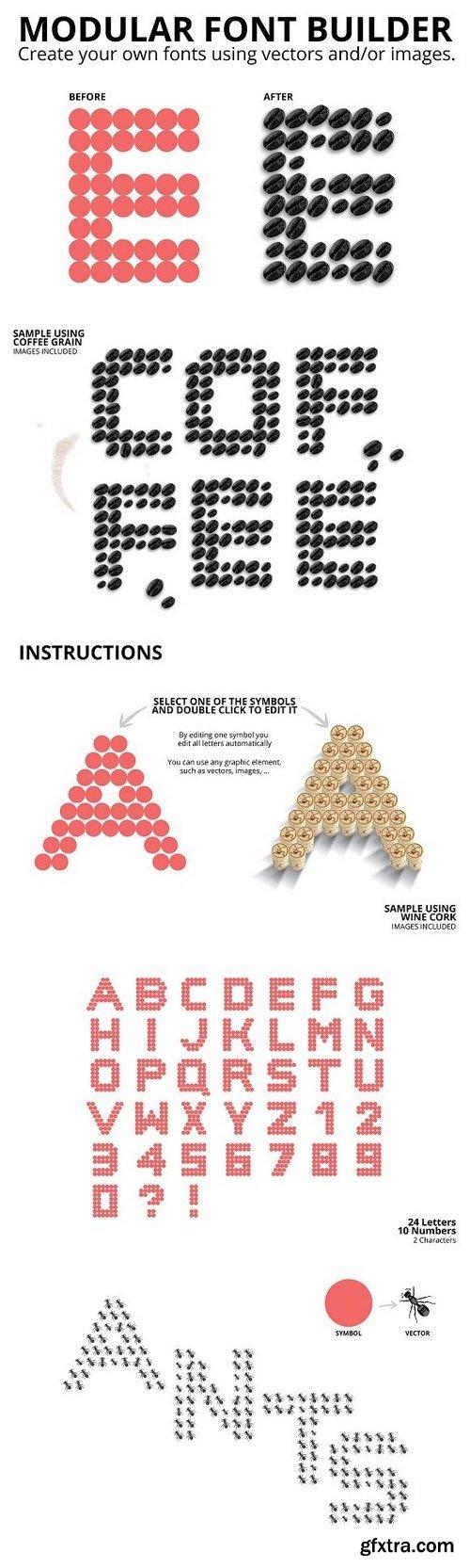CM - Modular Font Builder 1264922