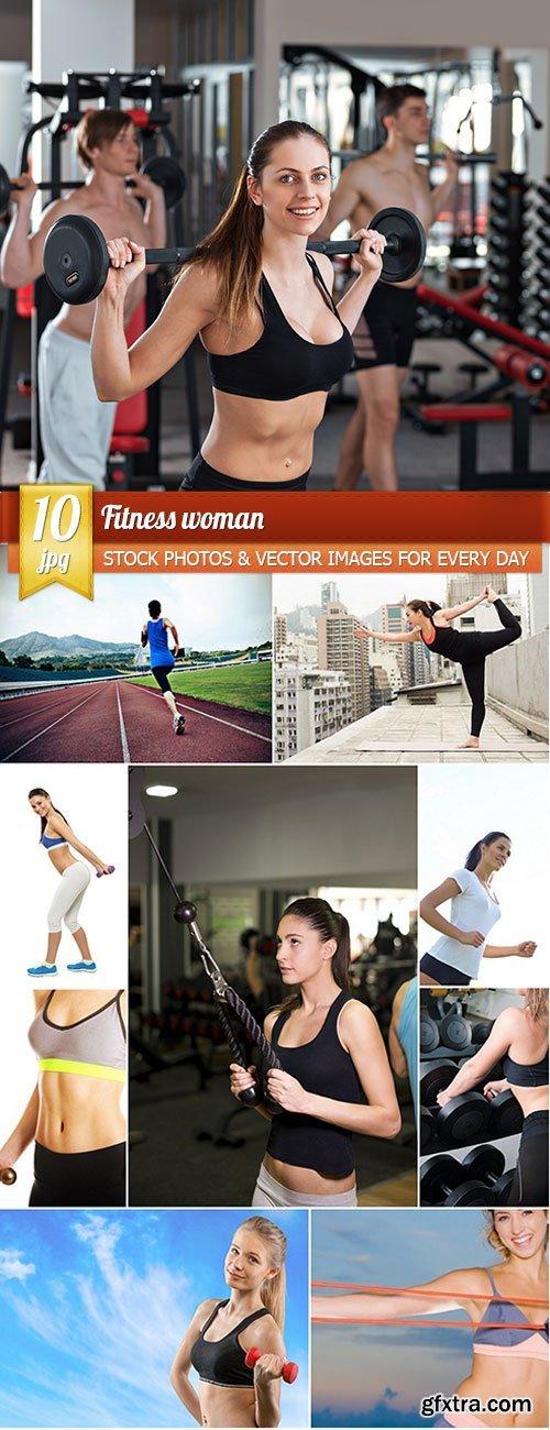 Fitness woman, 10 x UHQ JPEG