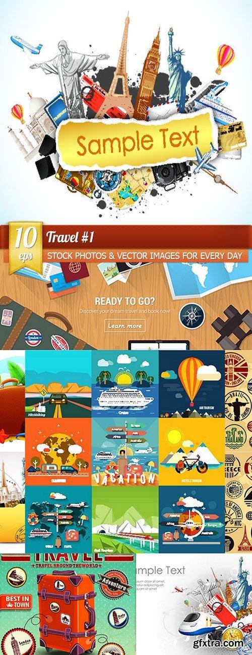 Travel 1, 10 x EPS