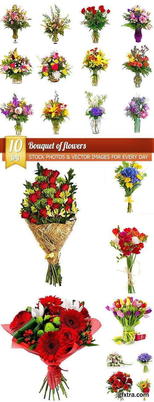 Bouquet of flowers, 10 x UHQ JPEG