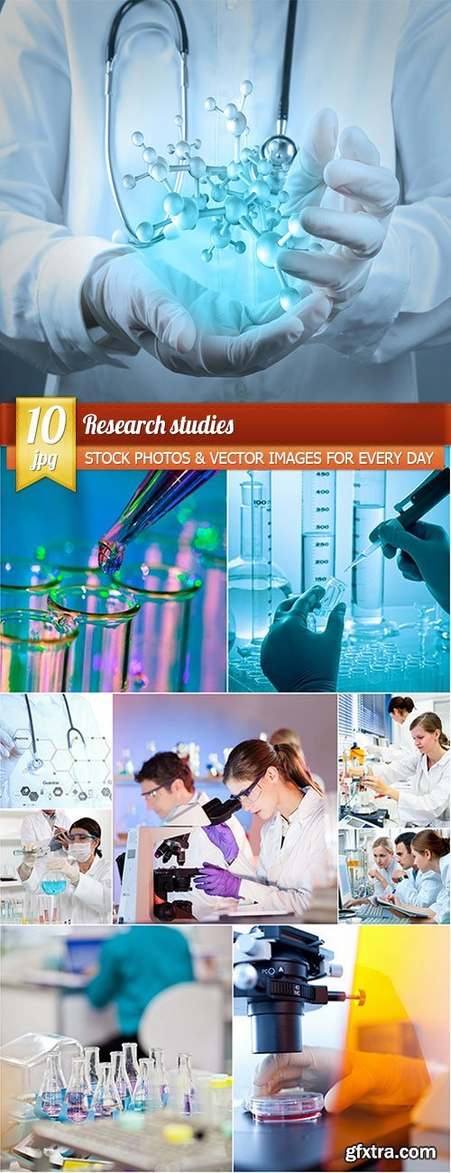 Research studies, 10 x UHQ JPEG