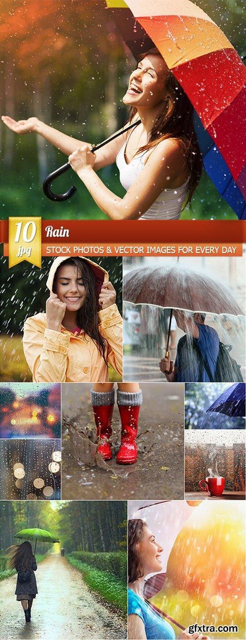 Rain, 10 x UHQ JPEG