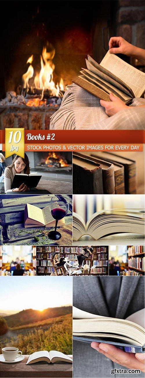 Books 2, 10 x UHQ JPEG