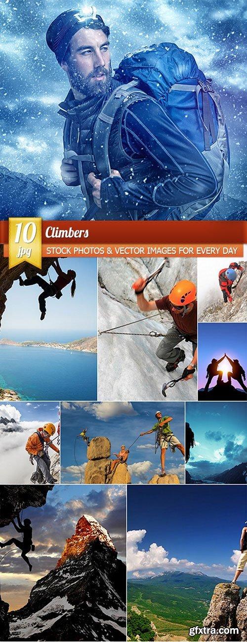 Climbers, 10 x UHQ JPEG