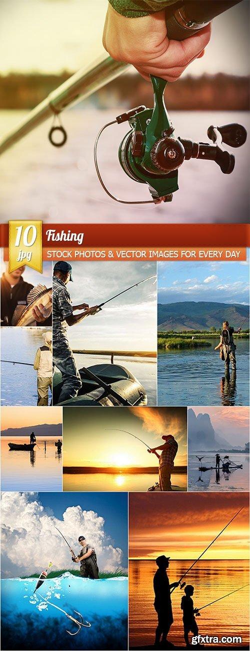 Fishing, 10 x UHQ JPEG