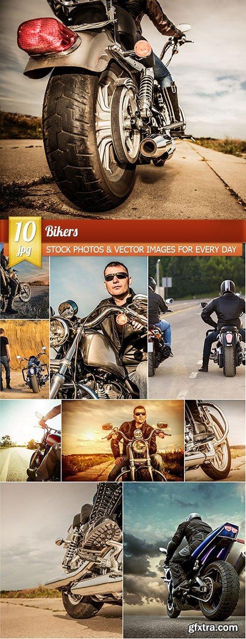 Bikers, 10 x UHQ JPEG