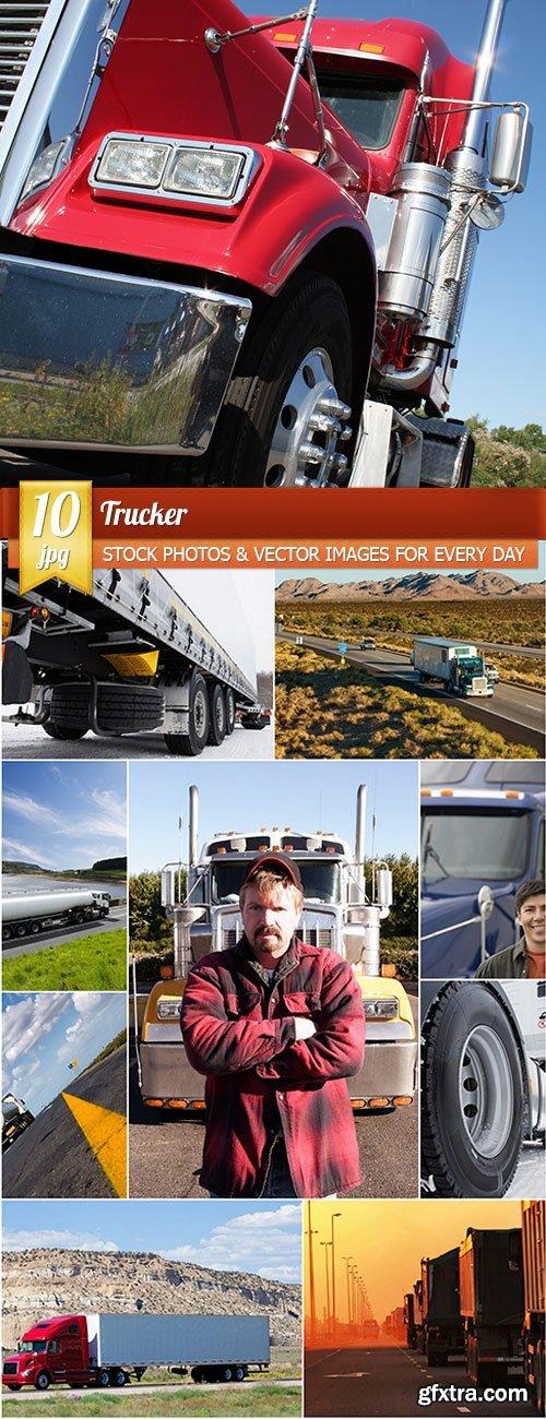 Trucker, 10 x UHQ JPEG