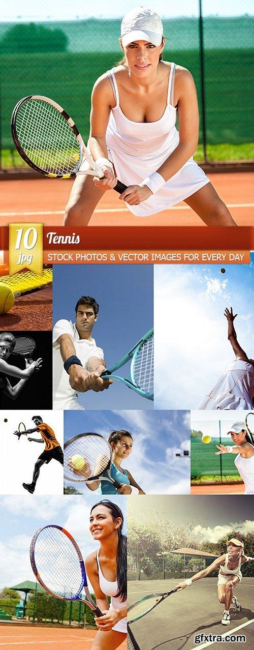 Tennis, 10 x UHQ JPEG