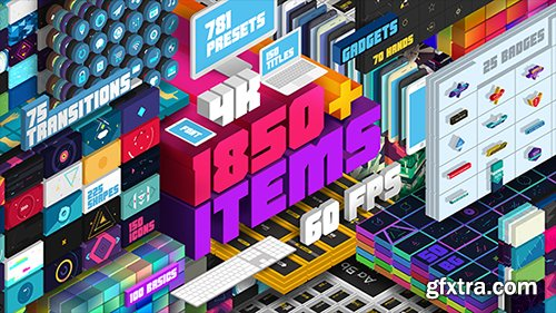 Videohive Big Pack of Elements 19888878