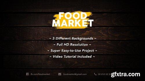 Videohive Food Market 19157803