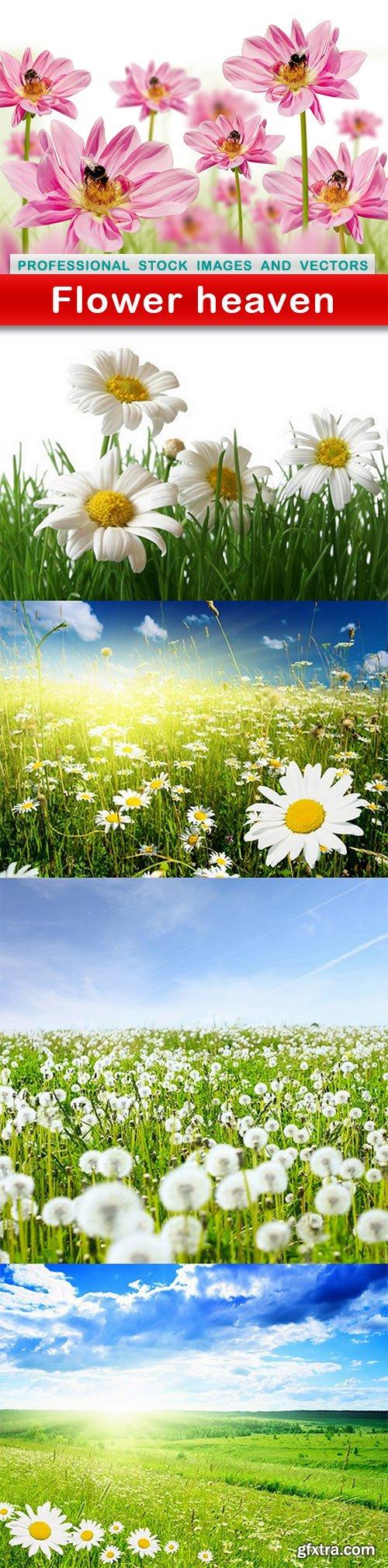 Flower heaven - 5 UHQ JPEG