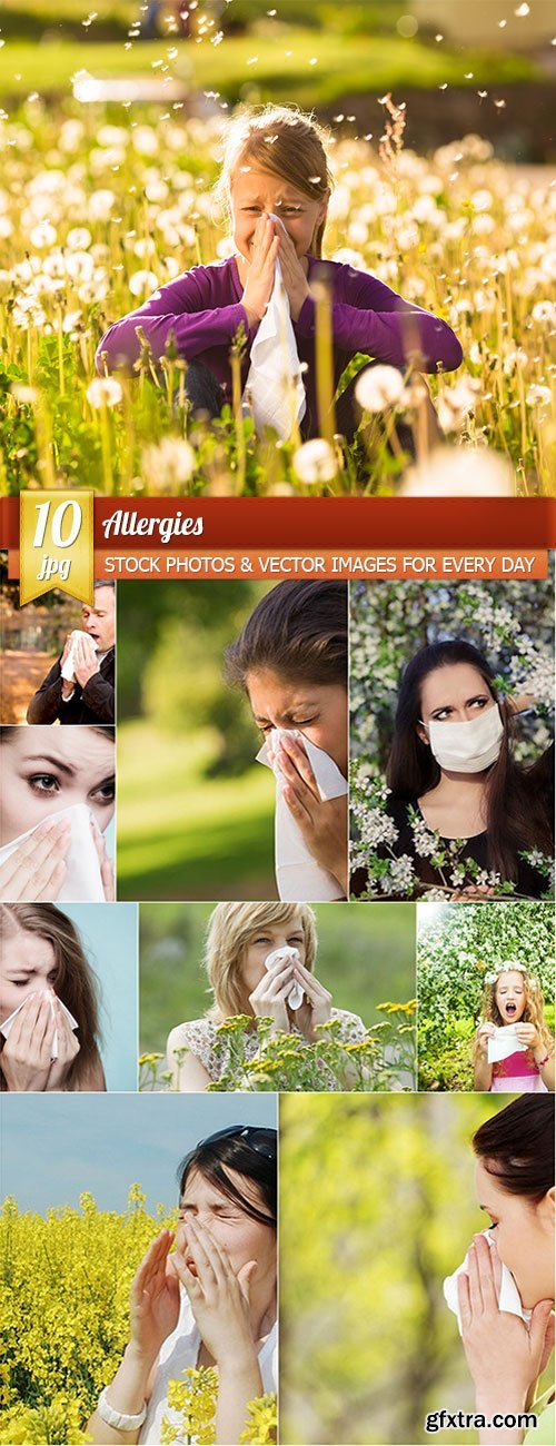 Allergies, 10 x UHQ JPEG
