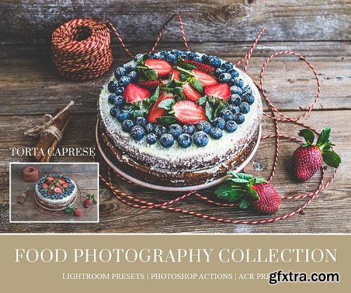 Food Lightroom Presets, Photoshop Actions and ACR Presets