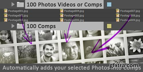 Videohive - Photos Videos Comps To Comps - 9557650