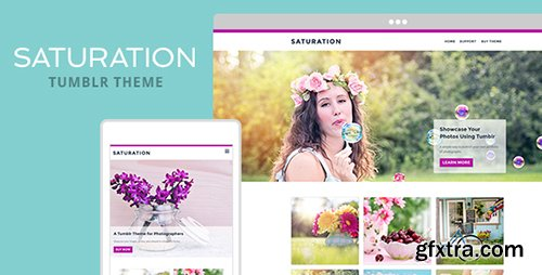 ThemeForest - Saturation v1.0 - Tumblr Theme - 19910710