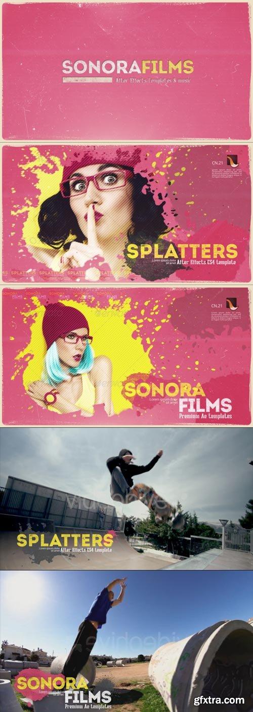 Videohive - Splatter Promo - 15692418