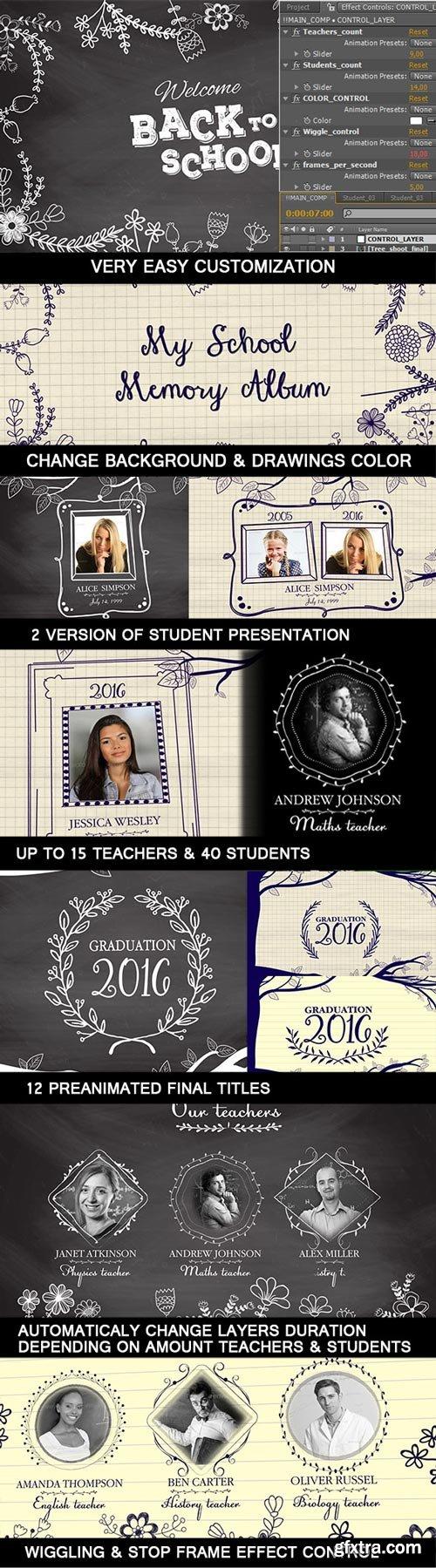 Videohive - Graduation Memory Board - 16261870