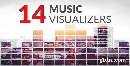 Videohive - 14 Music Visualizers - 16514774