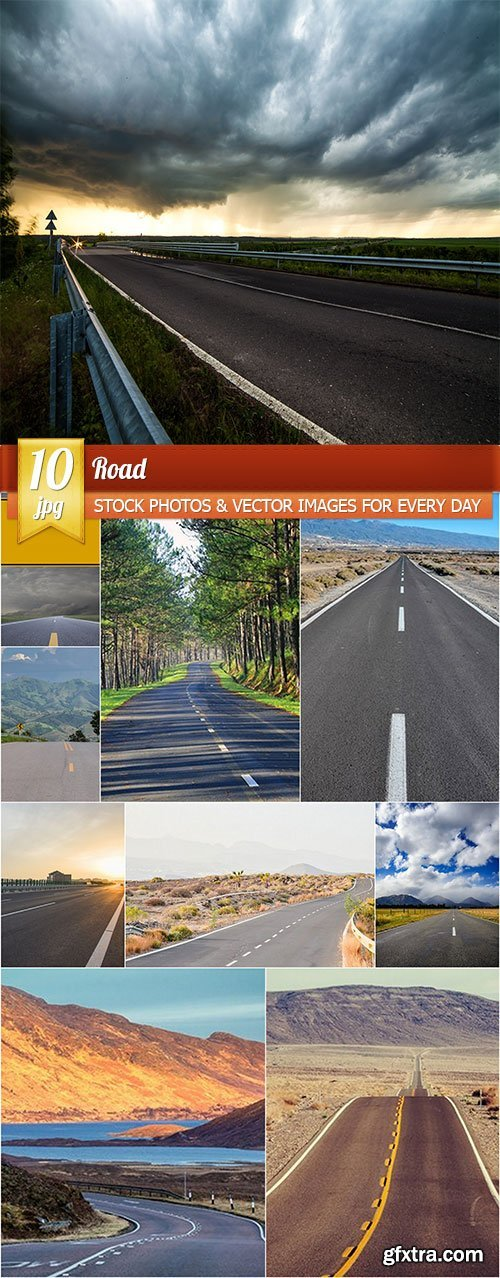 Road, 10 x UHQ JPEG
