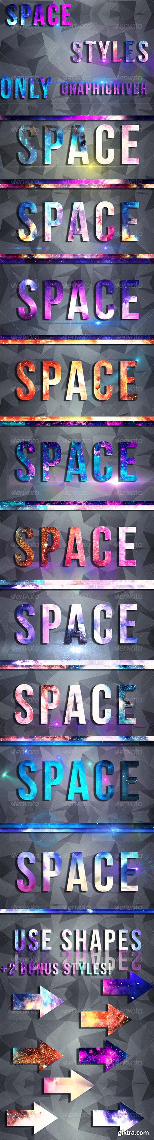 Graphicriver Space Text Styles8509591