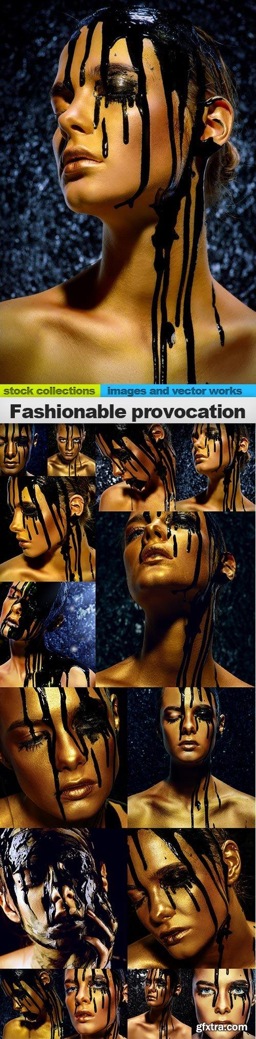 Fashionable provocation, 15 x UHQ JPEG