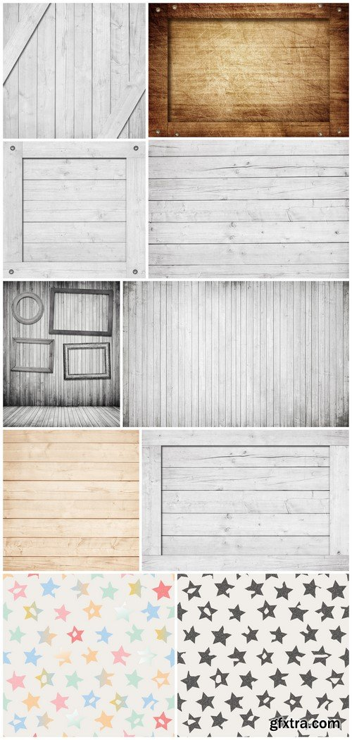 Background wooden crate, box, wall or frame with screws 10X JPEG