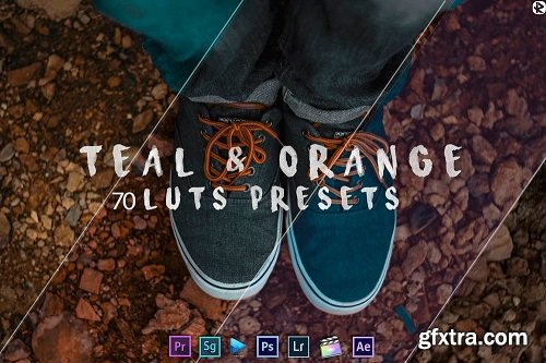 Teal And Orange - Standard Pack (RMN) - 70 Luts And Presets (Win/Mac)