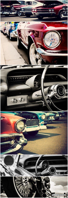 Cars retro 6X JPEG