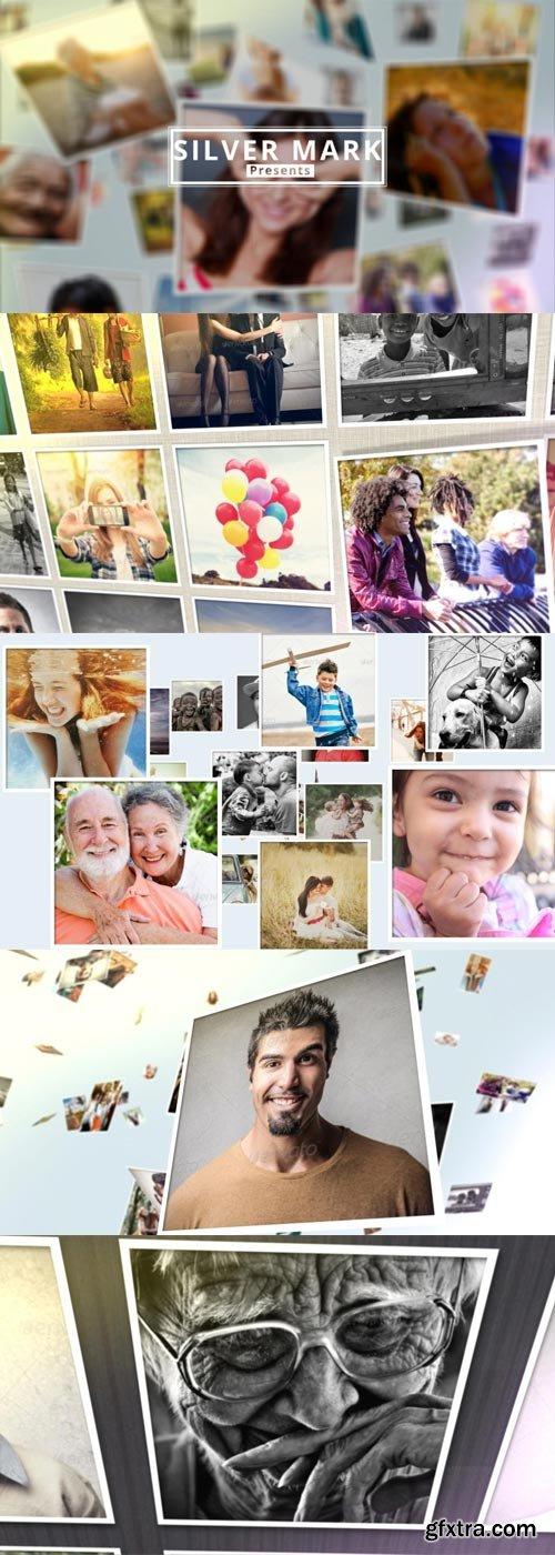 Videohive - Clean 3D Photos Slideshow Bundle - 9453693