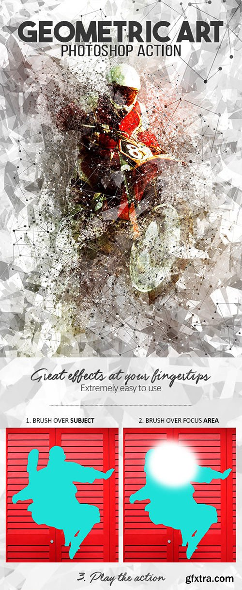 Graphicriver - Geometric Art Photoshop Action 17697563