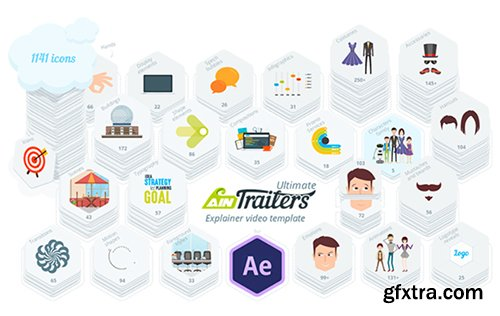 Videohive AinTrailers - Ultimate Explainer Video Toolkit 18950108 V1.3