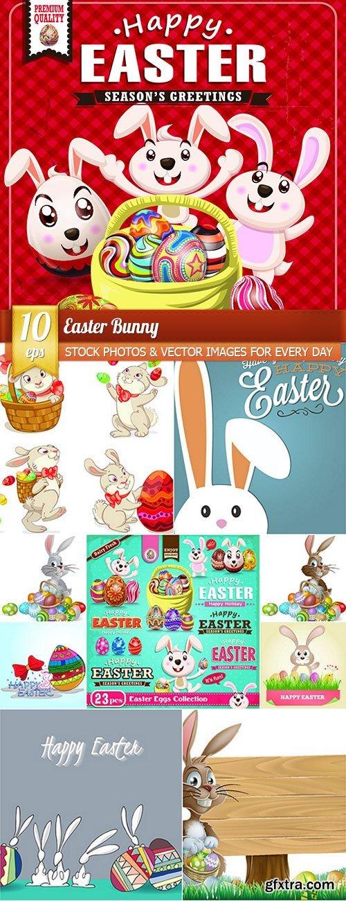 Easter Bunny, 10 x EPS