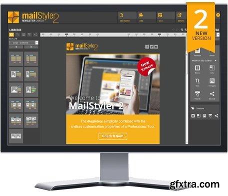MailStyler Newsletter Creator Pro 2.8.0.100 Multilingual Portable