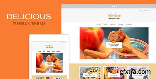 ThemeForest - Delicious v1.0 - Tumblr Theme - 20003982