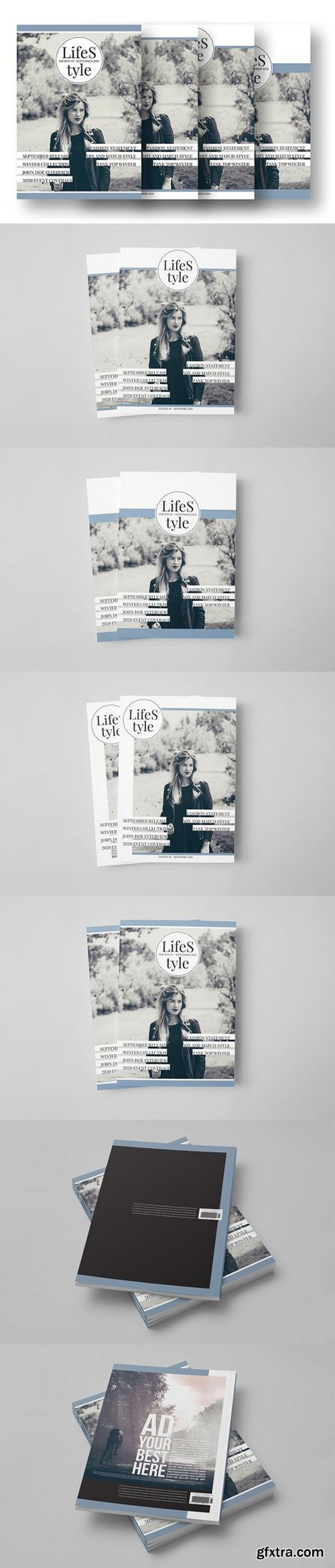 CM - LifeS tyle - A4 Cover Template 1480693