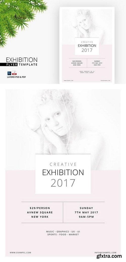 CM - Exhibition Flyer (Print Ready) 1480409