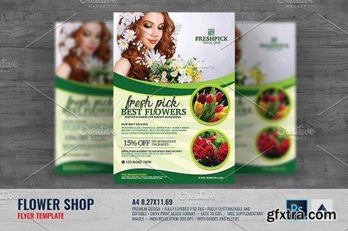 CM - Flower Shop Flyer 1493810