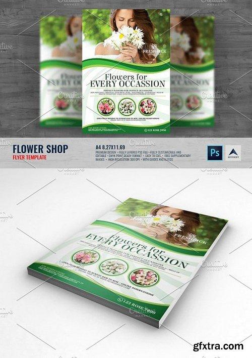 CM - Flower Shop Flyer 1493783