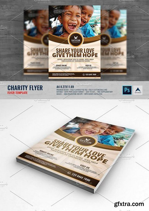 CM - Charity Flyer Template 1493732