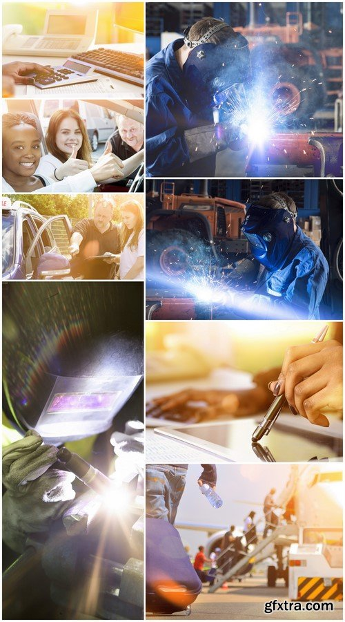Workers are welded with an inert gas 8X JPEG