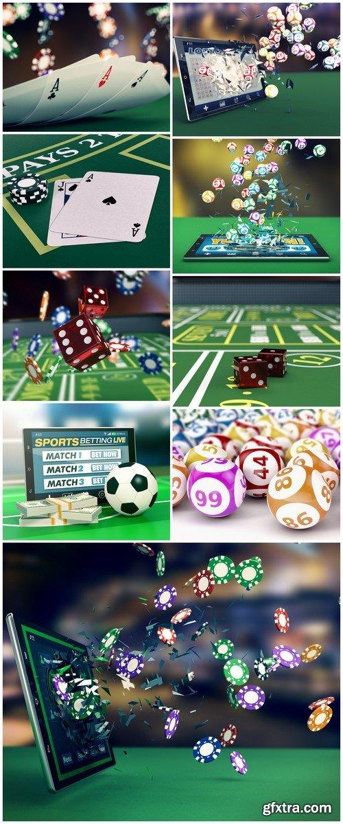 Concept of online sport bets 9X JPEG
