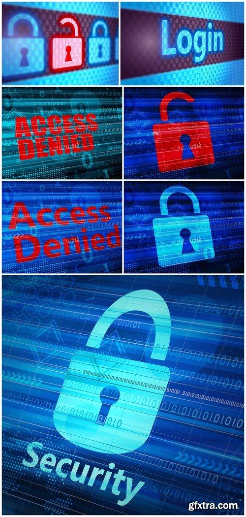 Network password user concept 7X JPEG
