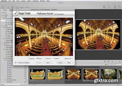 Imadio Fisheye-Hemi Photoshop Plug-In 2.1.0