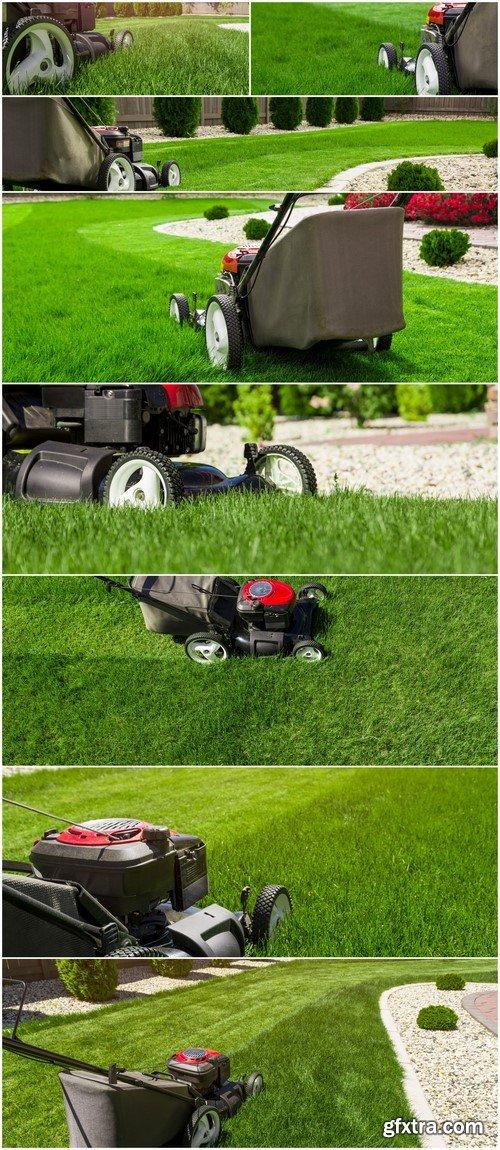 Garden mower 8X JPEG